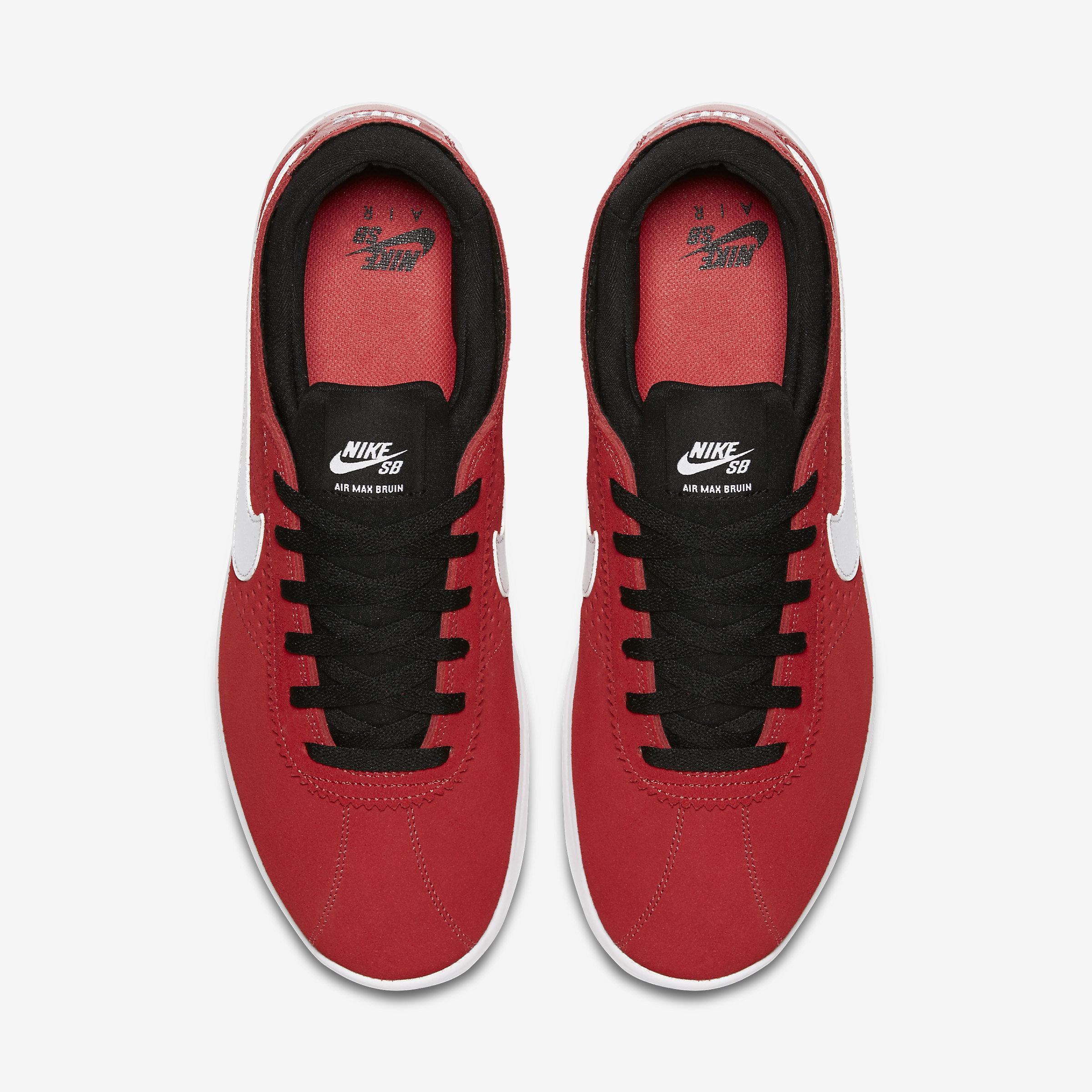 Nike Suede Sb Air Max Bruin Vapor in Red for Men