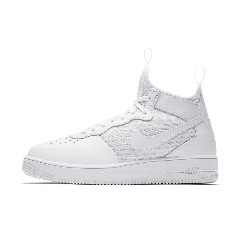 Lyst - Nike Air Force 1 Ultraforce Mid Men s Shoe in White for Men e82b51237