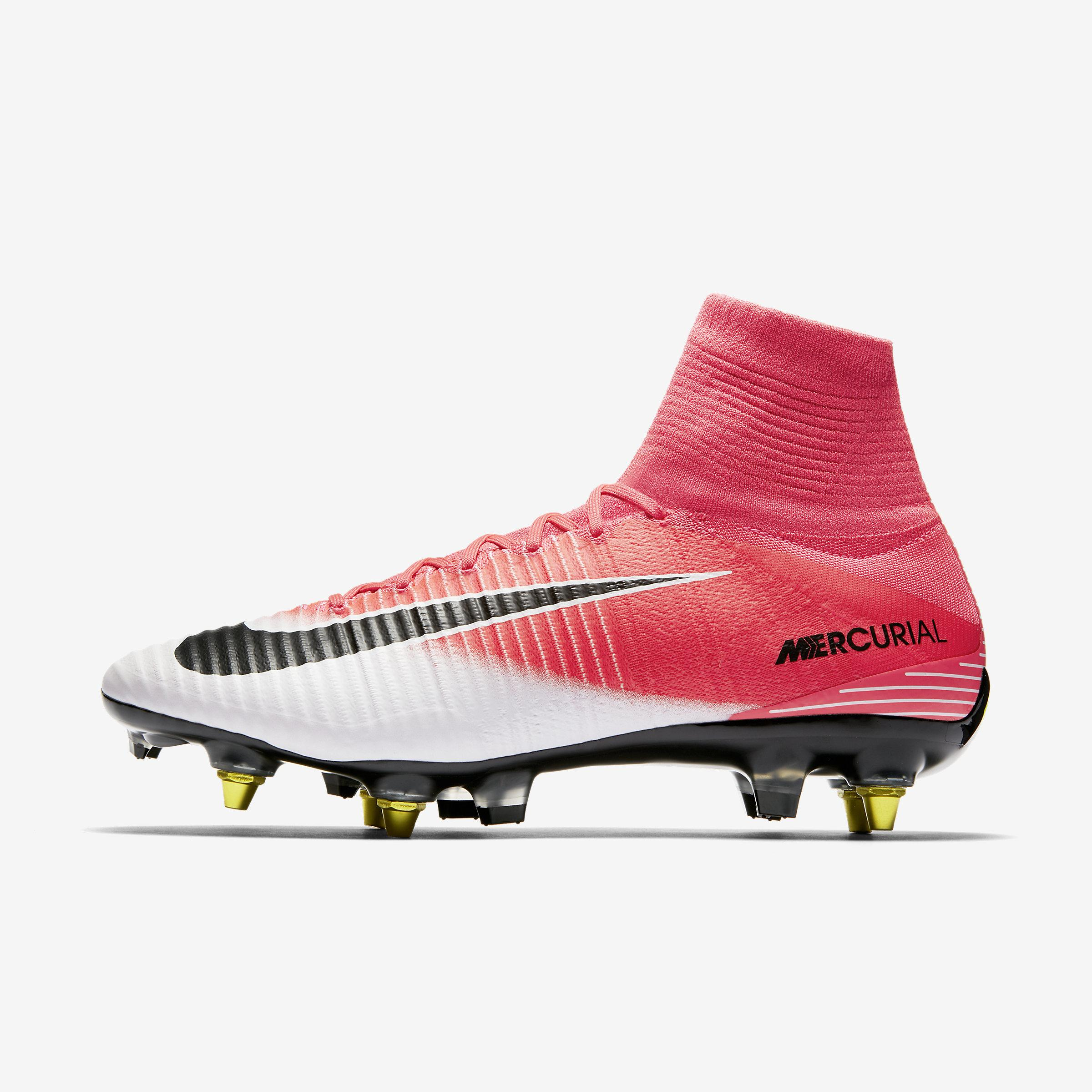25b3a85cb Nike Mercurial Superfly V Dynamic Fit Sg-pro Anti-clog in Pink for ...