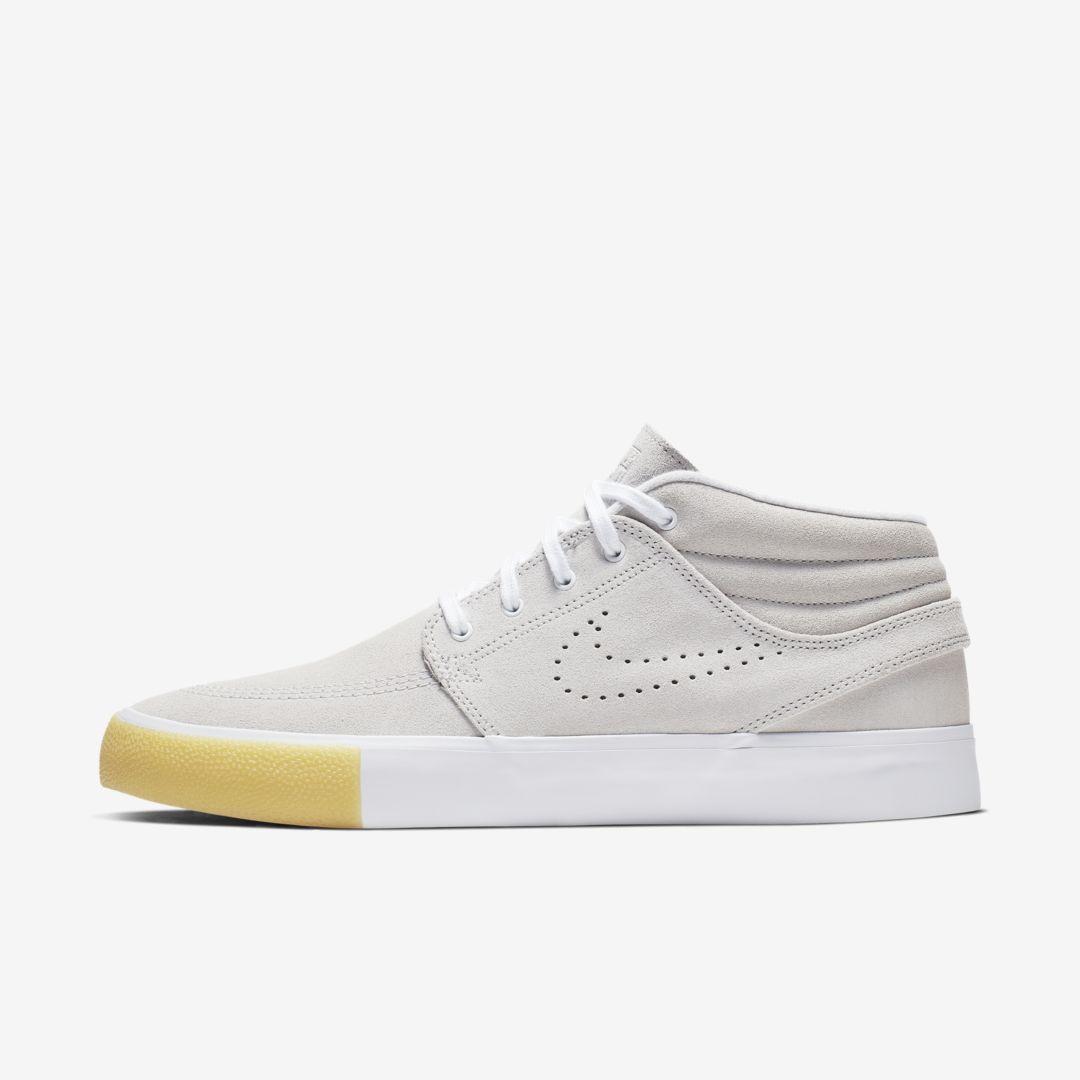Nike Sb Zoom Stefan Janoski Mid Rm Se Skate Shoe in White for Men ...