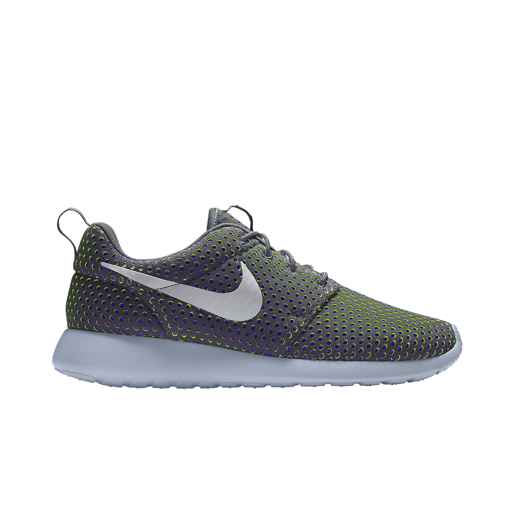 nike roshe one id s shoe in gray lyst