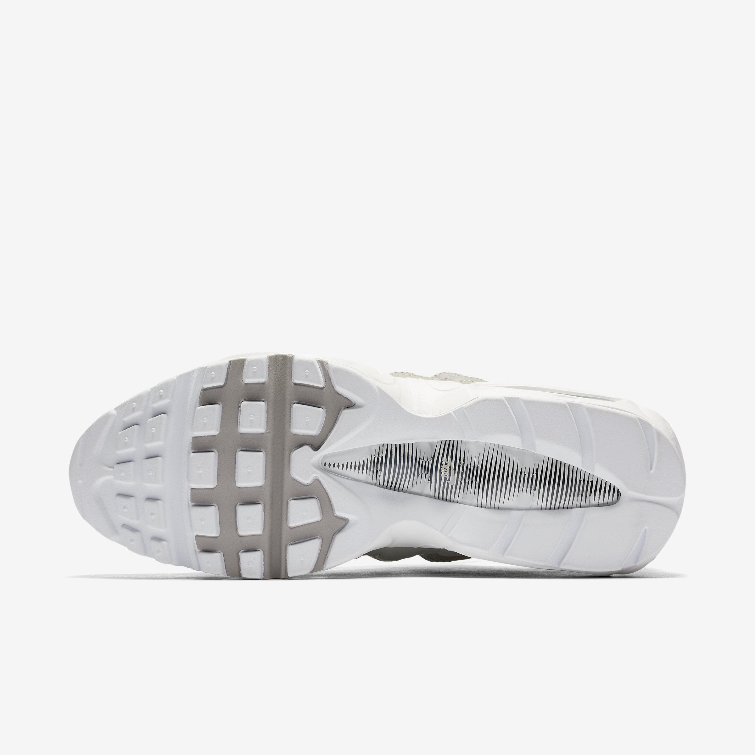 Nike Synthetic Air Max 95 Premium in Cobblestone,White,Cobblestone (White) for Men