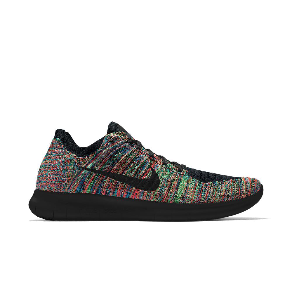 Lyst - Nike Free Rn Flyknit Id Men s Running Shoe in Black for Men e4f573e19