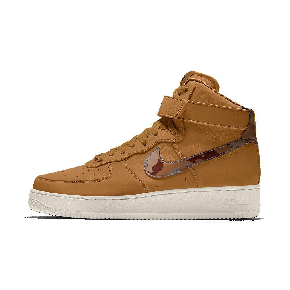 Nike Air Force 1 High Id Men S Shoe In Brown For Men Lyst