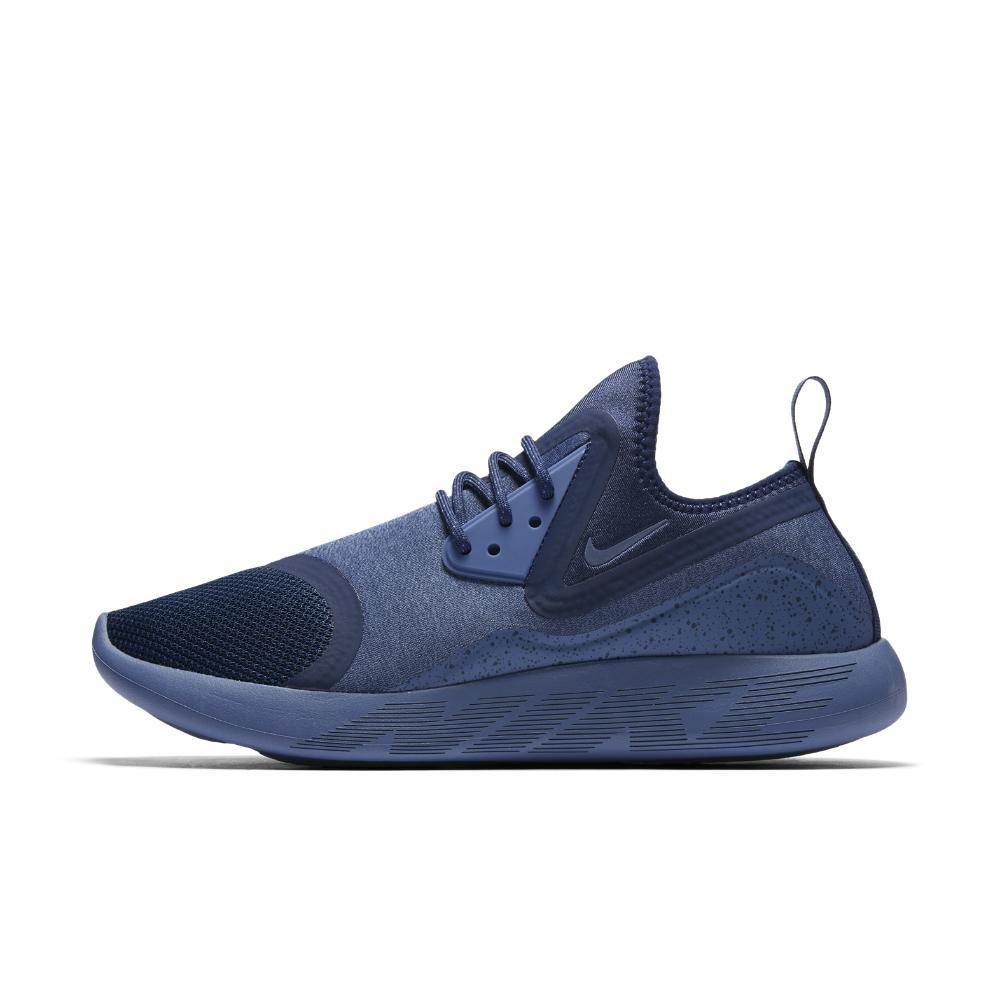 nike lunarcharge essential men 39 s shoe in blue for men lyst. Black Bedroom Furniture Sets. Home Design Ideas