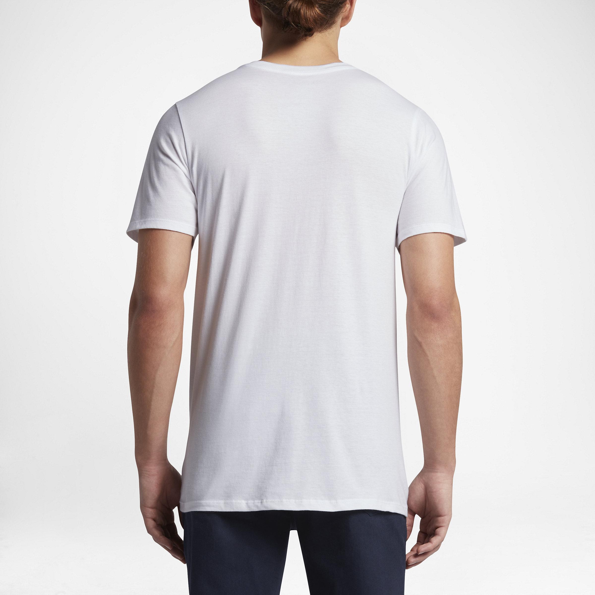 Nike Cotton Hurley Back Drop in White for Men