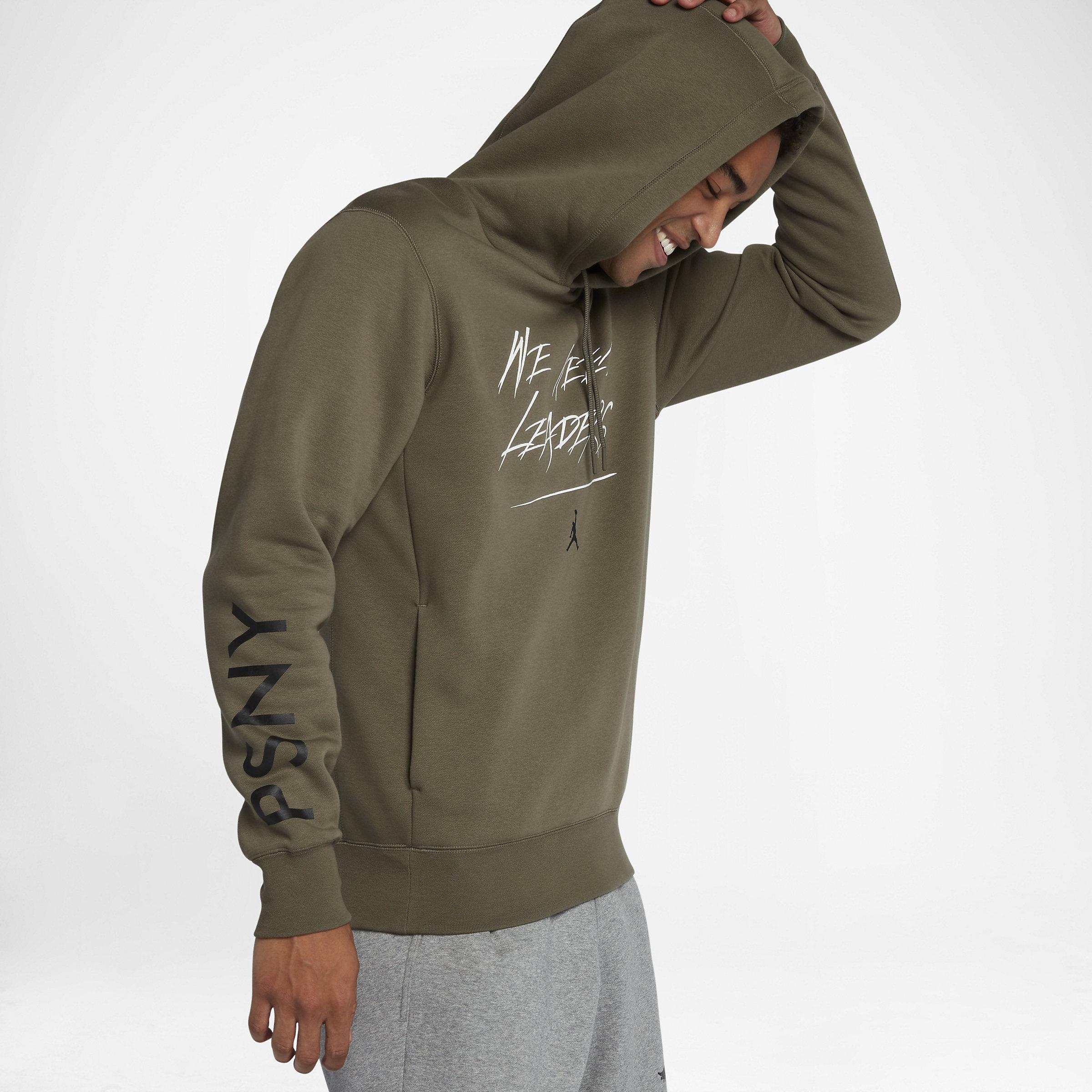 eb84460ebc6862 Nike Jordan X Psny Fleece in Green for Men - Lyst