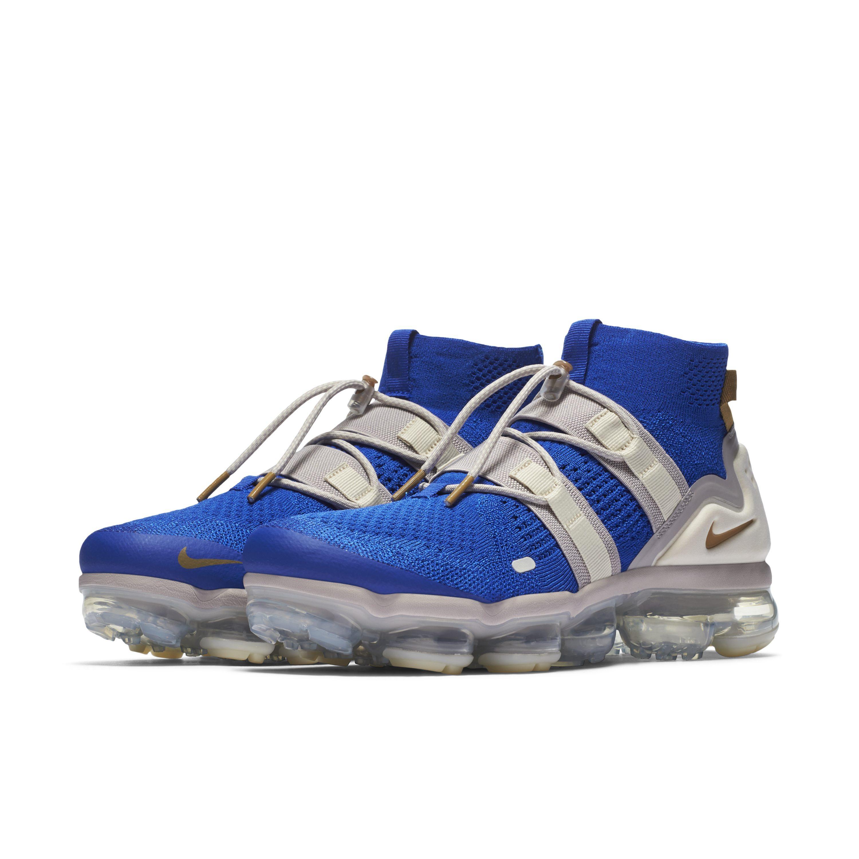1fff467feb7a Nike - Blue Air Vapormax Flyknit Utility Trainers for Men - Lyst. View  fullscreen