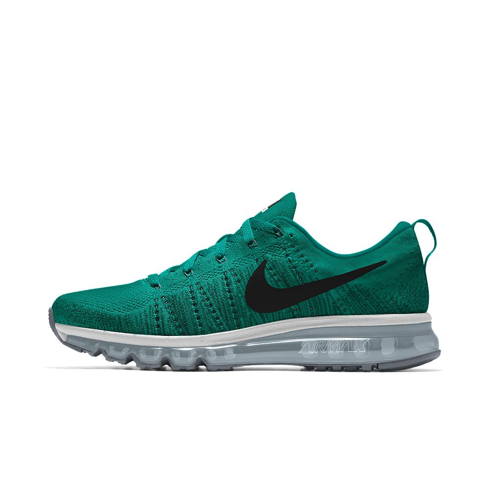 Nike Flyknit Air Max Id Men's Running Shoe in Green for ...