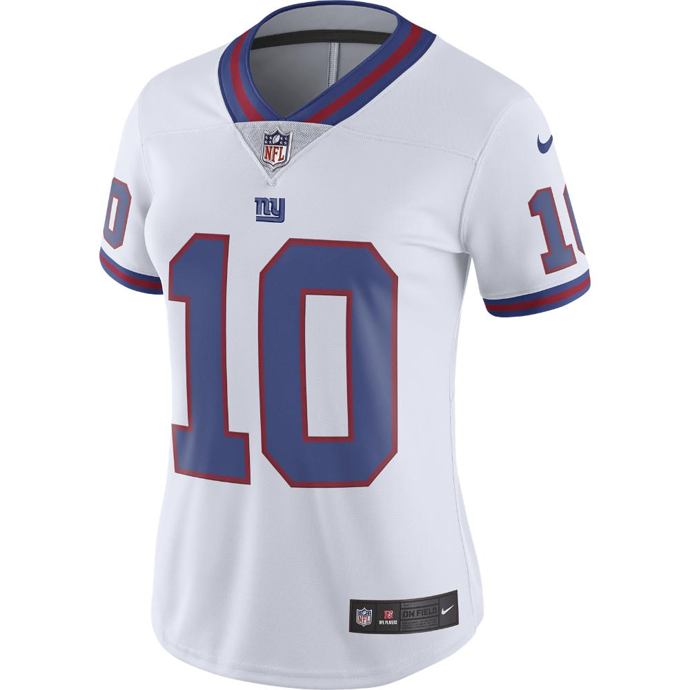 7343610b8 Nike. White Nfl New York Giants Color Rush Limited (eli Manning) Women s  Football Jersey
