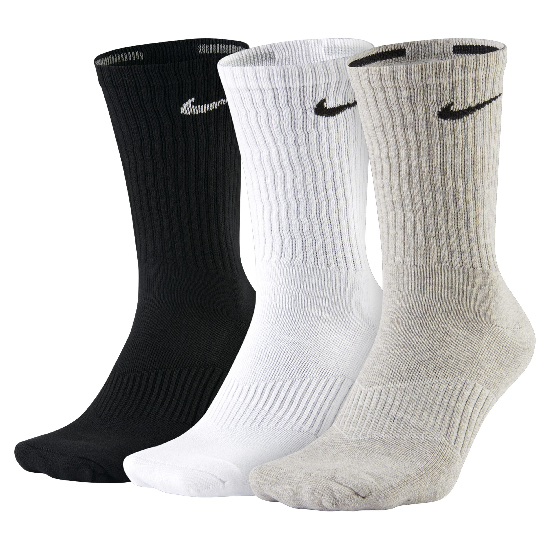 c214da8e043e Nike Cotton Cushion Crew Socks (3 Pair) for Men - Lyst
