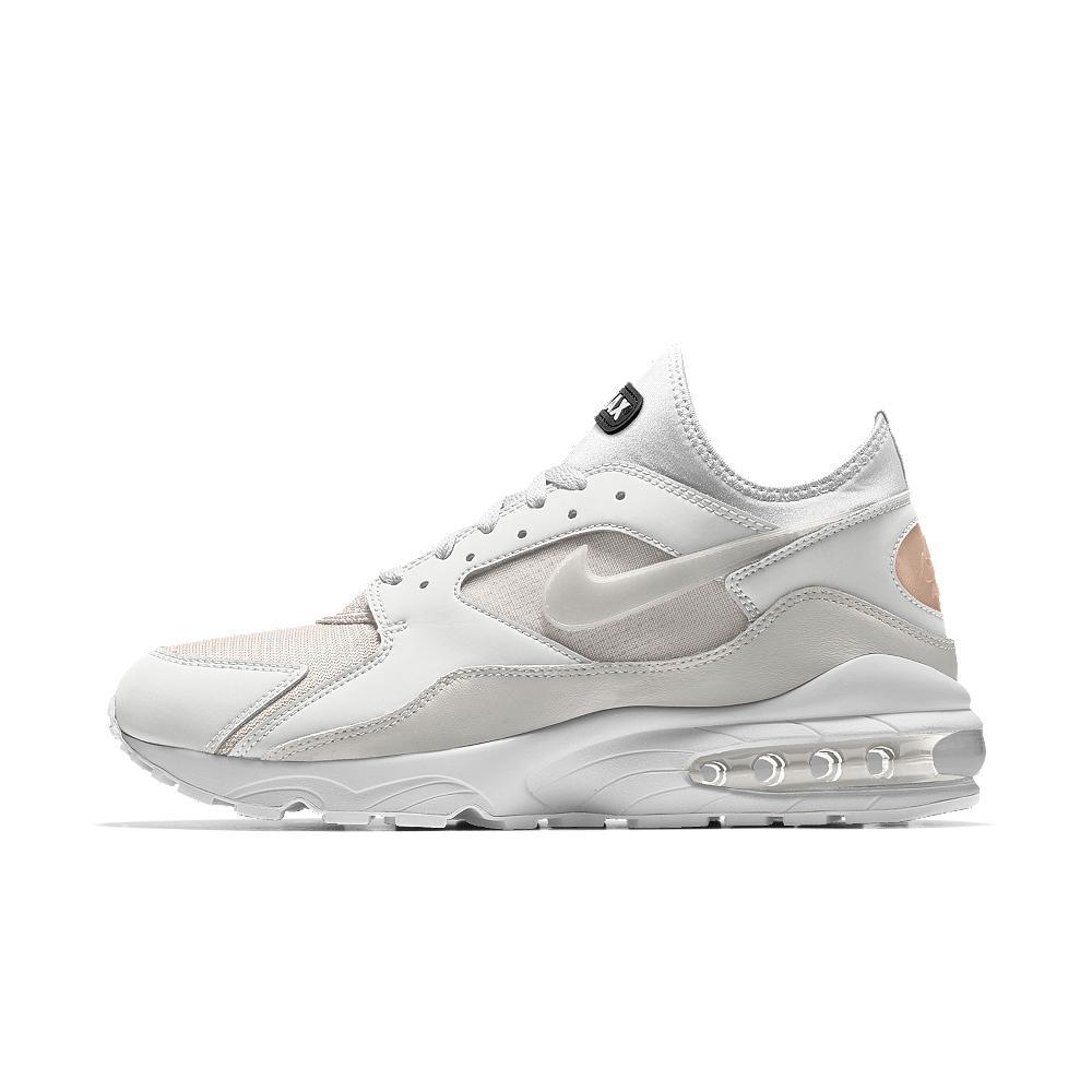 Nike White Air Max 93 Premium Id Men's Shoe for men