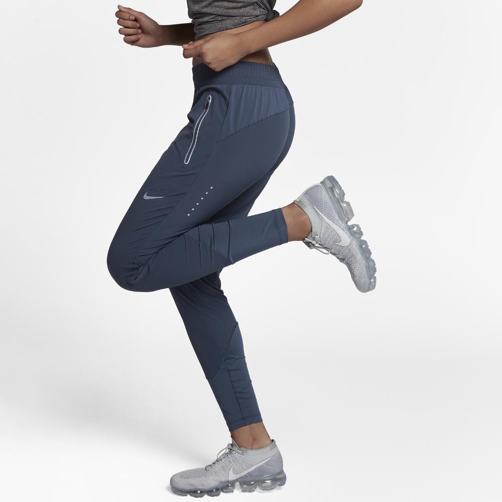 4e43ce1f8 Nike Swift Women's Running Pants in Blue - Lyst