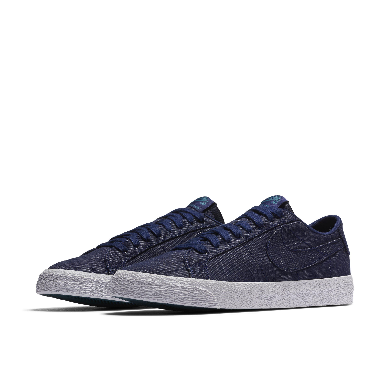 the best attitude ce662 7aeb1 Nike - Blue Sb Zoom Blazer Low Canvas Deconstructed Skateboarding Shoe for  Men - Lyst. View fullscreen