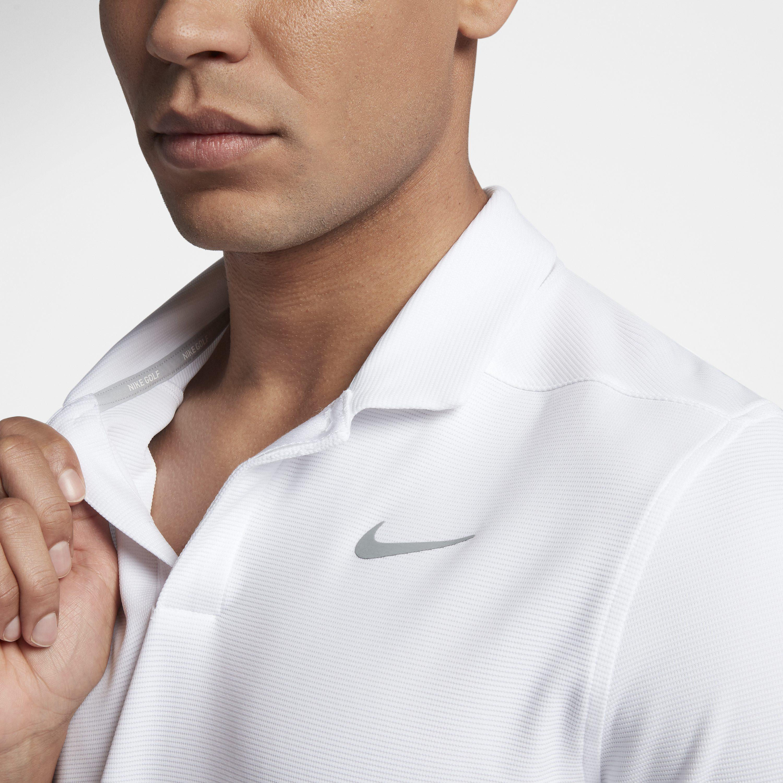 276fbe1a Nike - White Aeroreact Victory Golf Polo for Men - Lyst. View fullscreen