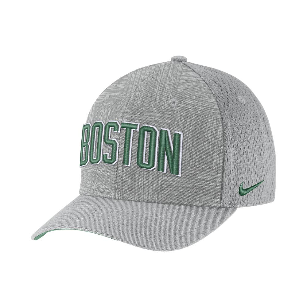 on sale 89d2d b657b Nike Boston Celtics City Edition Classic99 Nba Hat (silver) in ...