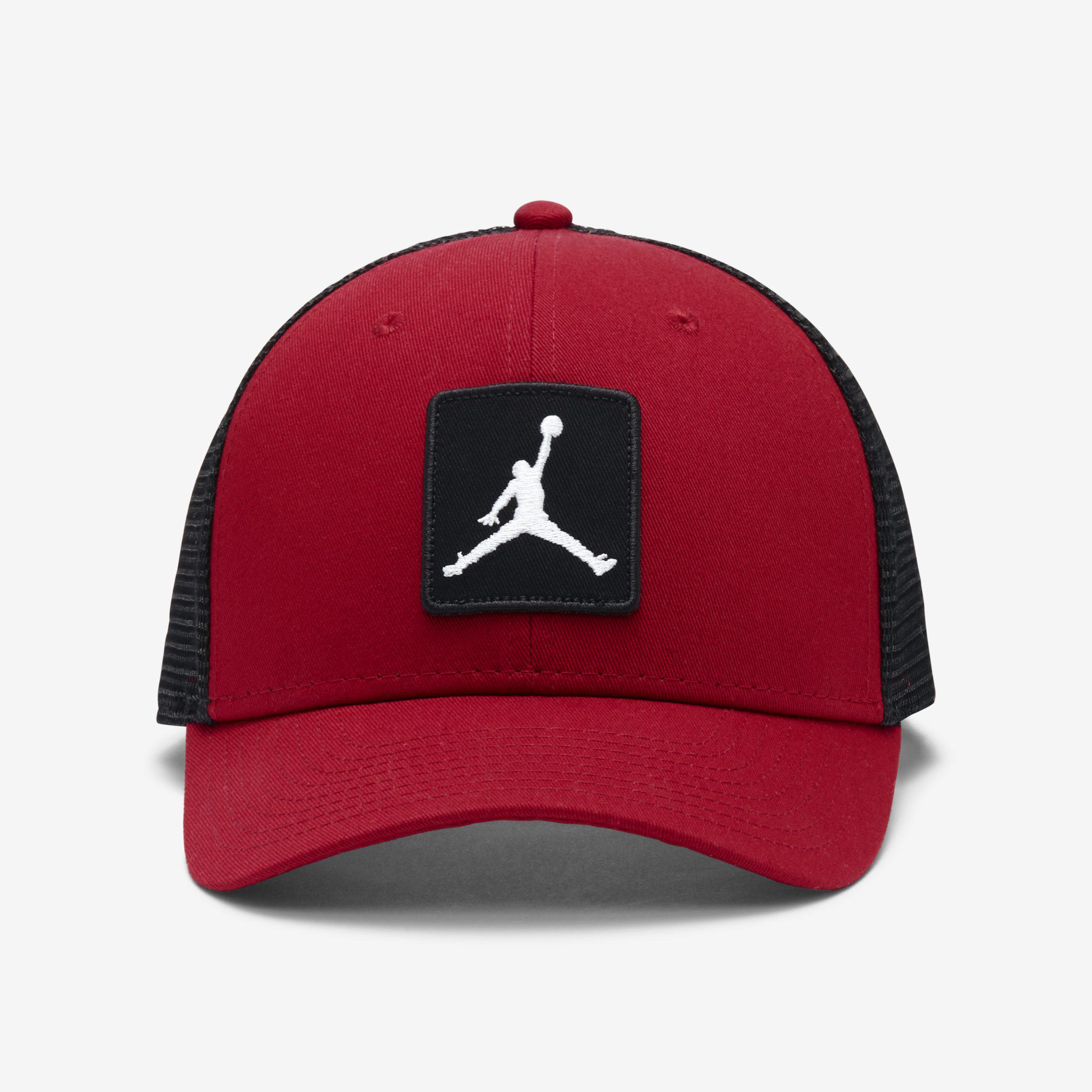 059069551a773 Nike Jordan Jumpman Classic99 Trucker Adjustable Hat in Red for Men ...