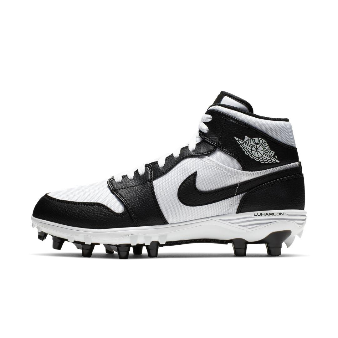 Nike Synthetic Jordan 1 Td Mid Football Cleat In White For Men Lyst