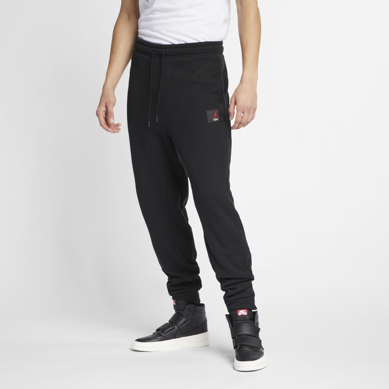 252605dda9d4 Nike Jordan Flight Trousers in Black for Men - Lyst