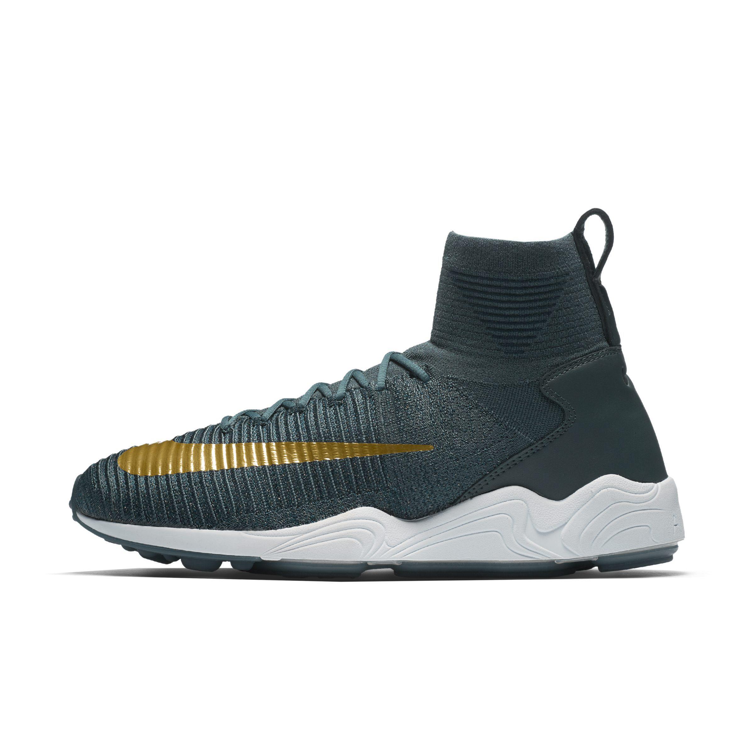 051b66ba088a Nike Zoom Mercurial Flyknit Shoe in Blue for Men - Lyst