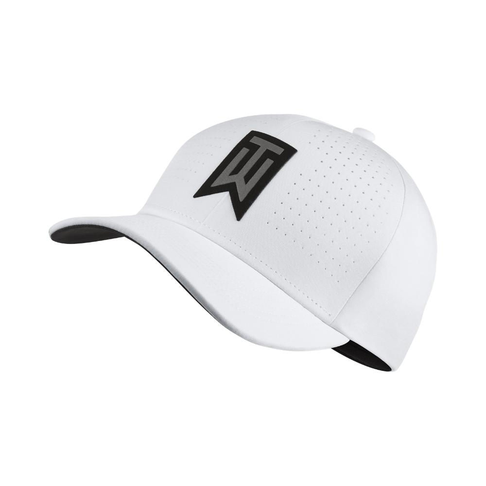 9fe8702a7a8 Lyst - Nike Tw Classic 99 Statement Fitted Golf Hat in White for Men