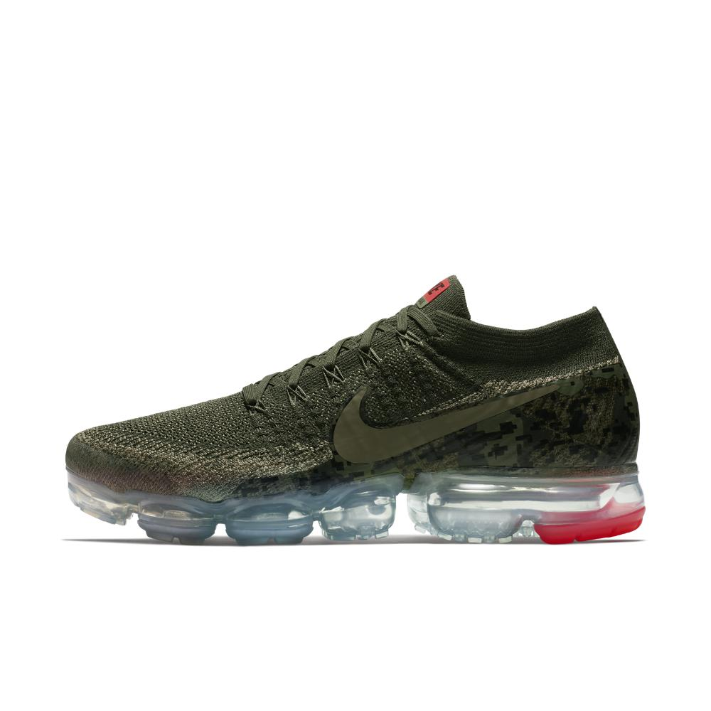 buy popular 21314 9d614 Nike - Green Air Vapormax Flyknit Camo Mens Running Shoe for Men - Lyst