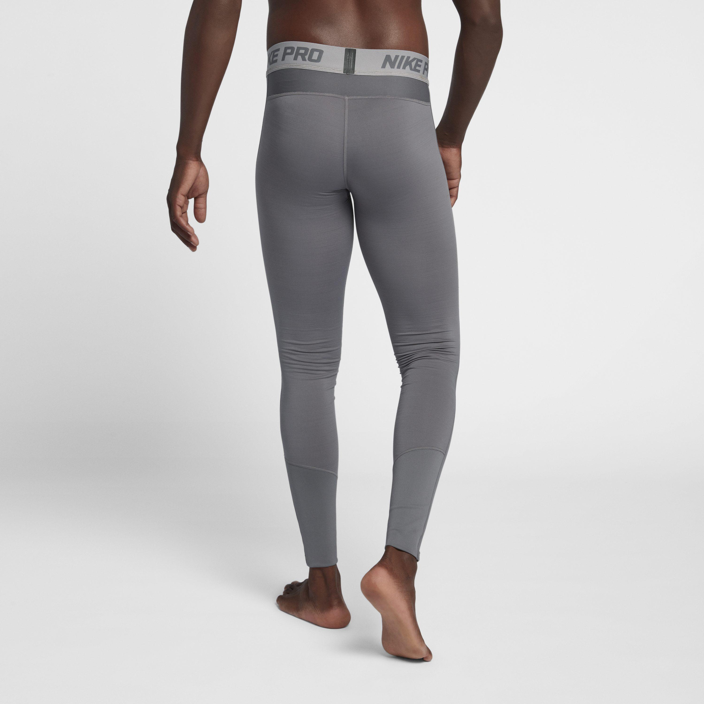 956e6784e9790 Nike - Gray Pro Dri-fit Therma Tights for Men - Lyst. View fullscreen