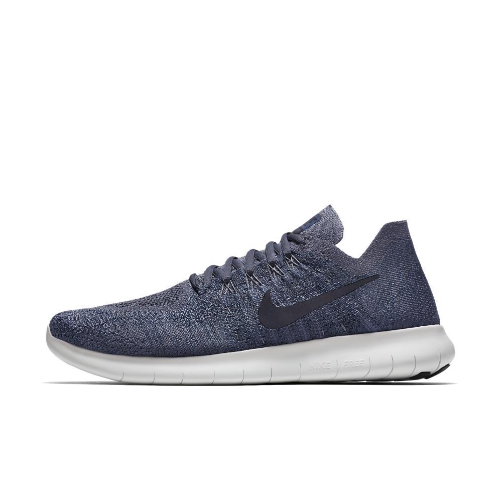 f53f7ca2463 Lyst - Nike Free Rn Flyknit 2017 Men s Running Shoe in Blue for Men