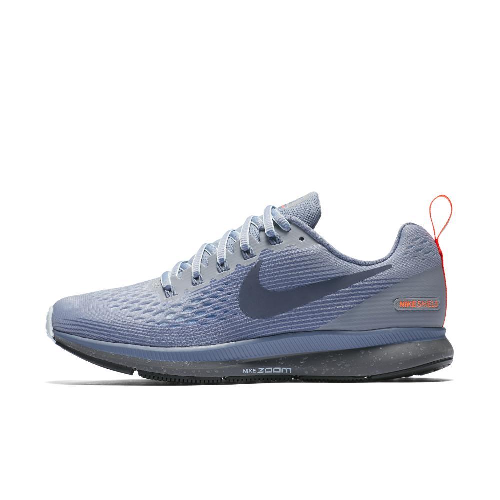 Elemental Habitat Esperanzado  Nike Air Zoom Pegasus 34 Shield Women's Running Shoe in Blue - Lyst