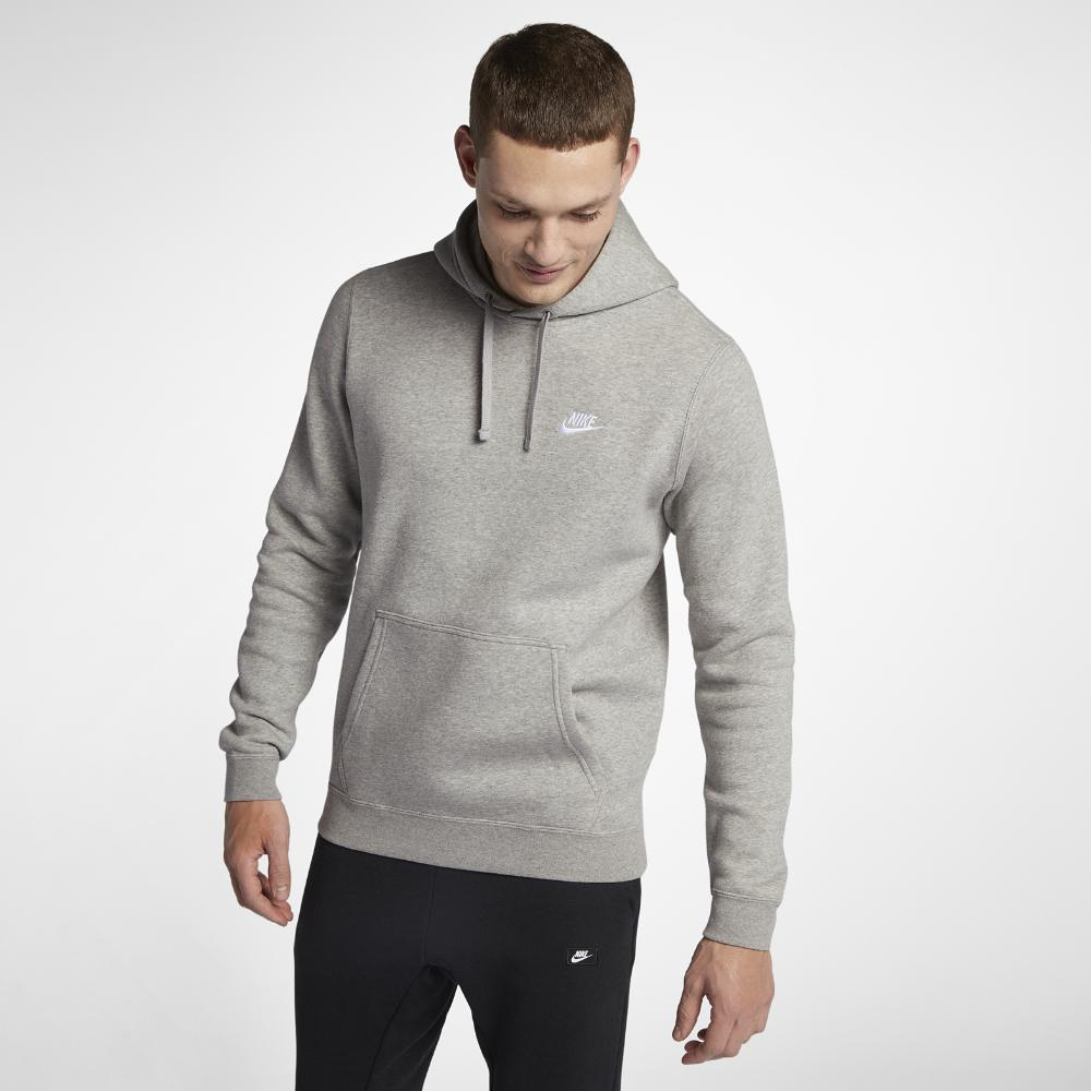 nike hoodie dark grey