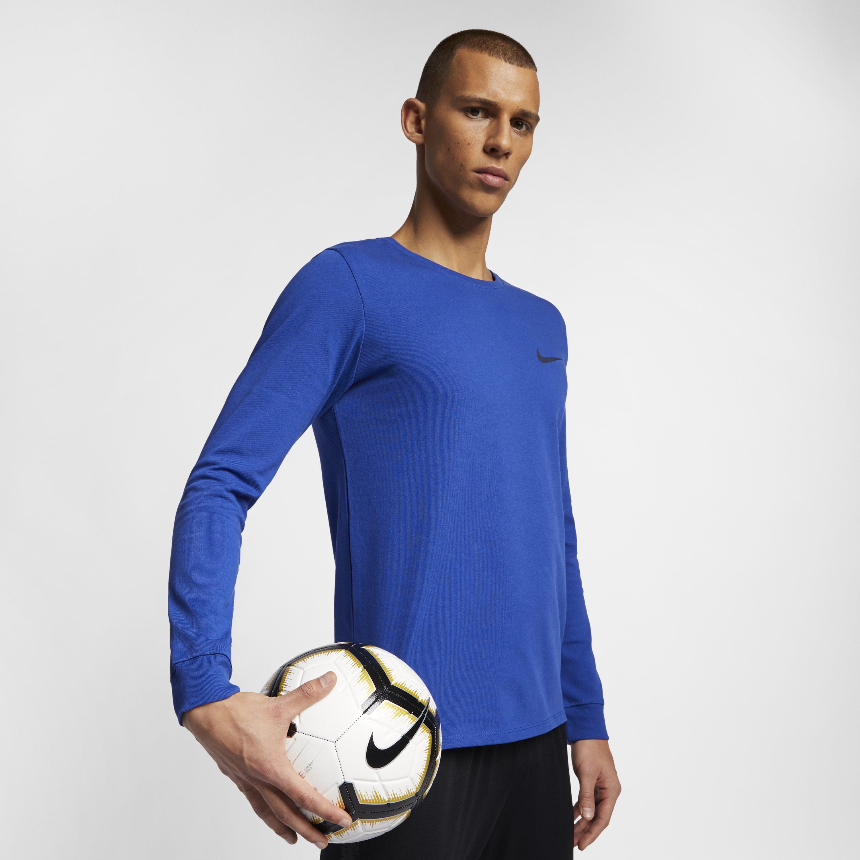 d2e553864 Nike Chelsea Fc Long-sleeve T-shirt in Blue for Men - Lyst