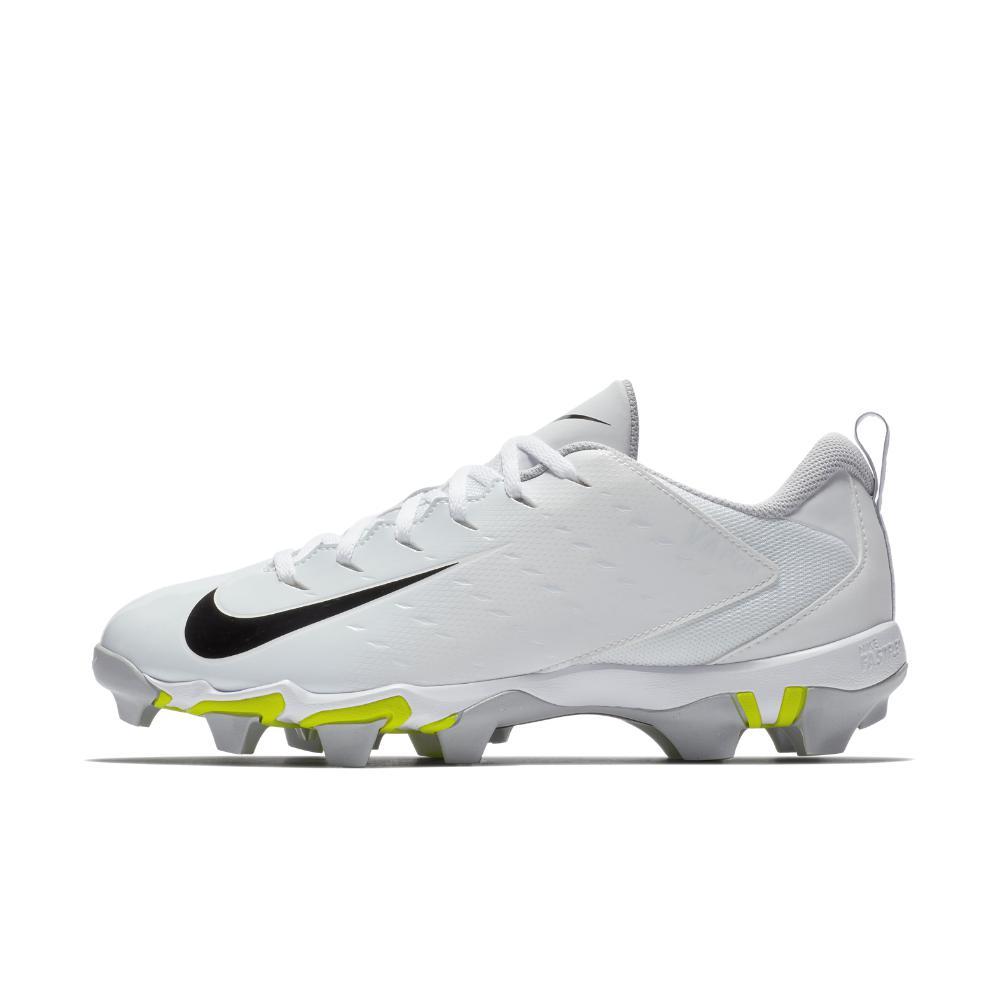 Nike. White Vapor Untouchable Shark 3 Men's Football Cleat