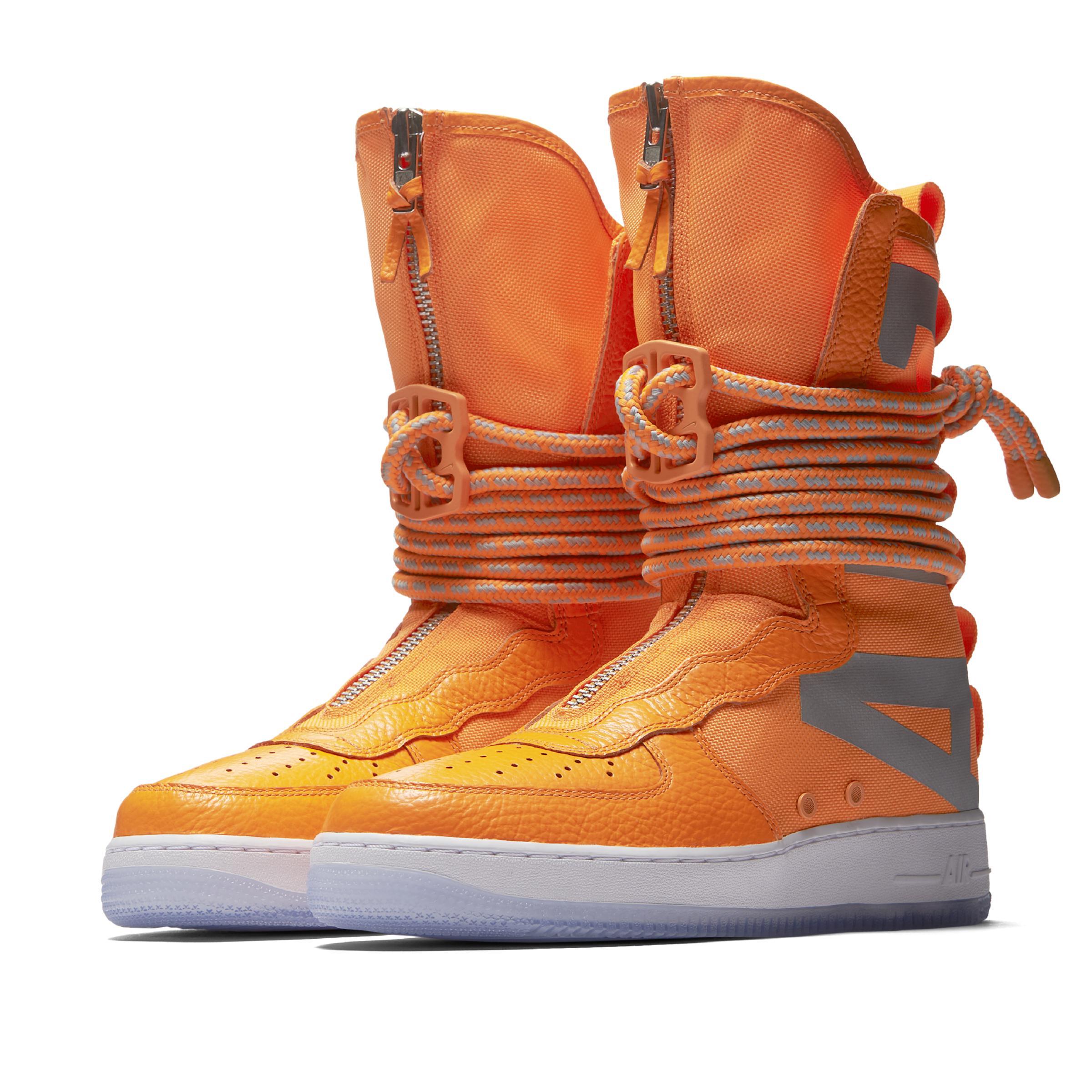 huge discount 58bc0 7c485 Lyst - SF Air Force 1 High Botas Nike de hombre de color Nar