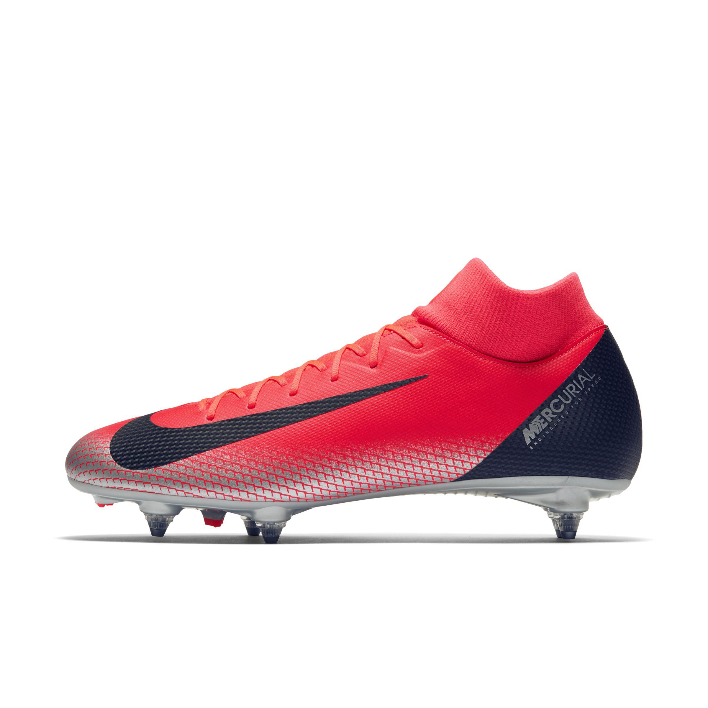d8aba0d56f8 Nike Cr7 Superfly 6 Academy Soft-ground Football Boot in Red - Lyst