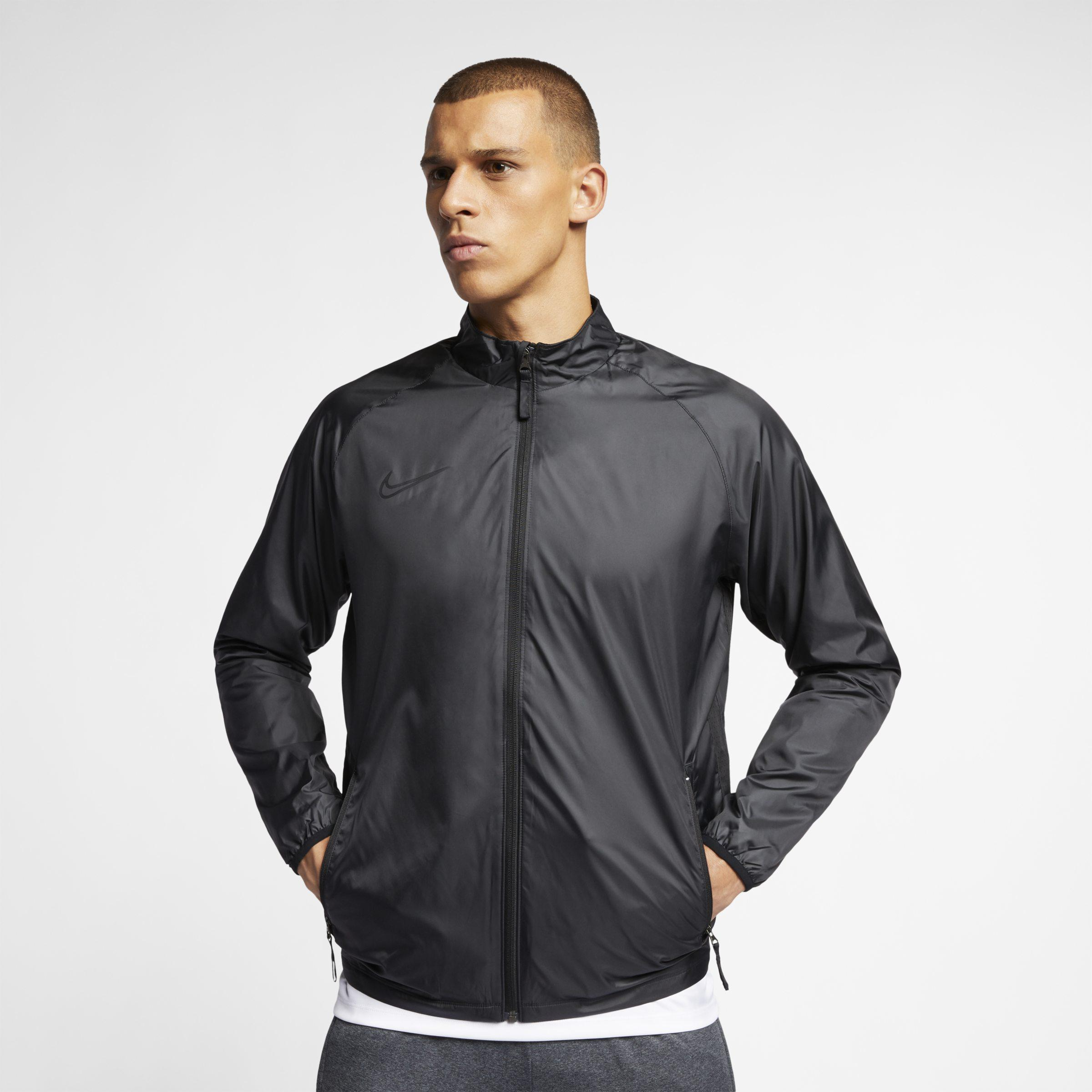 25efa9edc24 Nike Repel Academy Football Jacket in Black for Men - Lyst