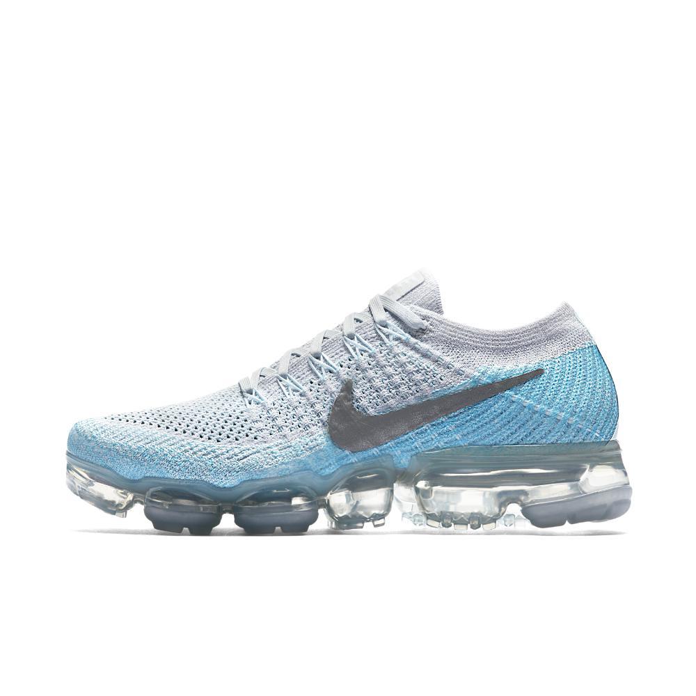291f9ab2bf2 Lyst - Nike Air Vapormax Flyknit Women s Running Shoe in Blue for Men