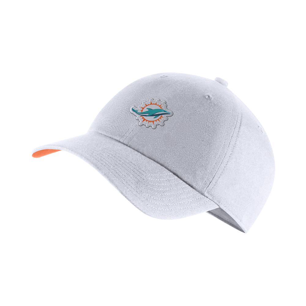 Adjustable For Men Heritage86 white Dolphins nfl Hat Nike Sixteen TD Passes With ZERO Interceptions