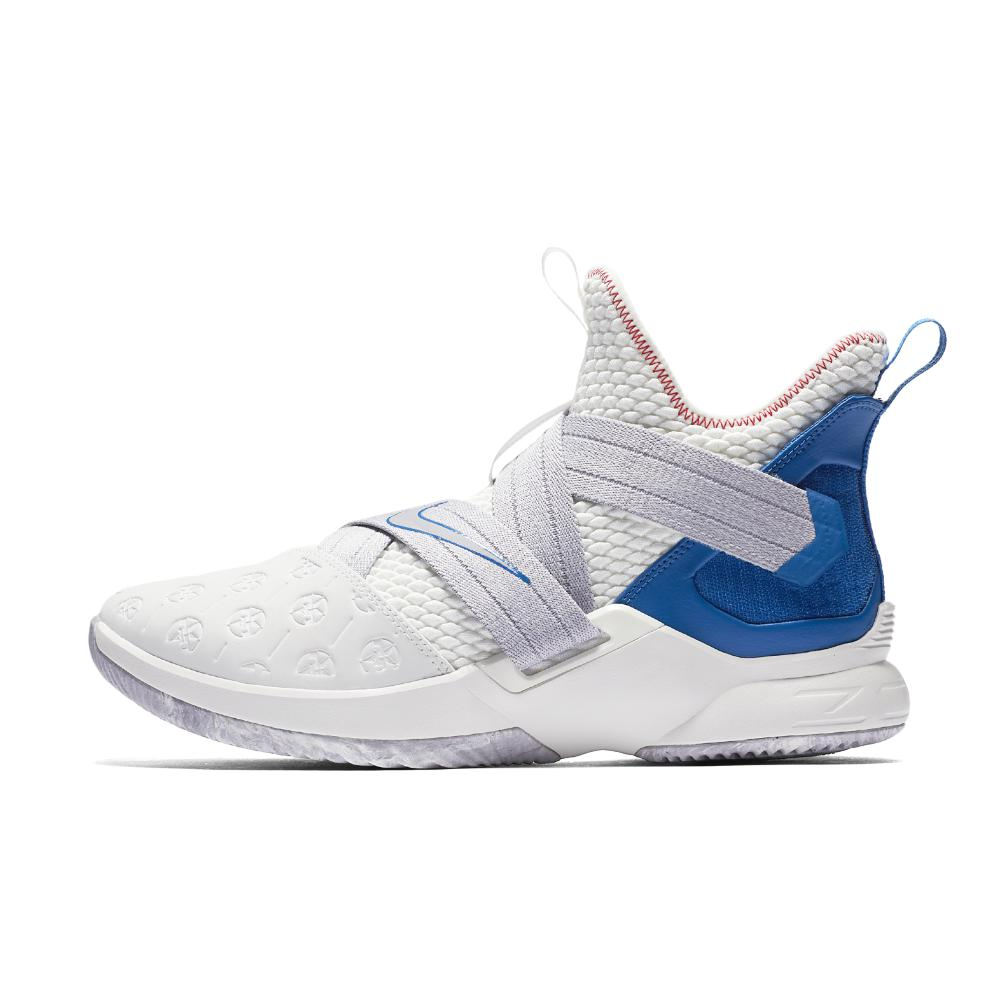 huge discount c2594 a9e85 Nike Lebron Soldier Xii Basketball Shoe in White for Men - Lyst
