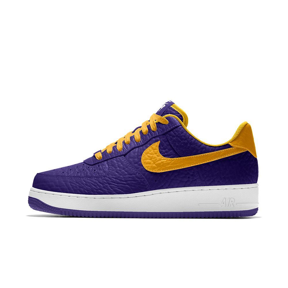 Nike Air Force 1 Low Premium Id (los Angeles Lakers) Men's Shoe in ...