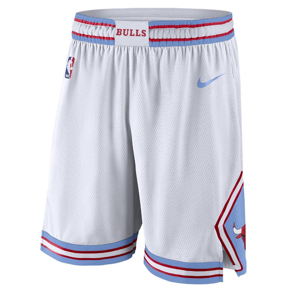 86b6d7ecb Nike Chicago Bulls City Edition Swingman Men s Nba Shorts in Blue ...