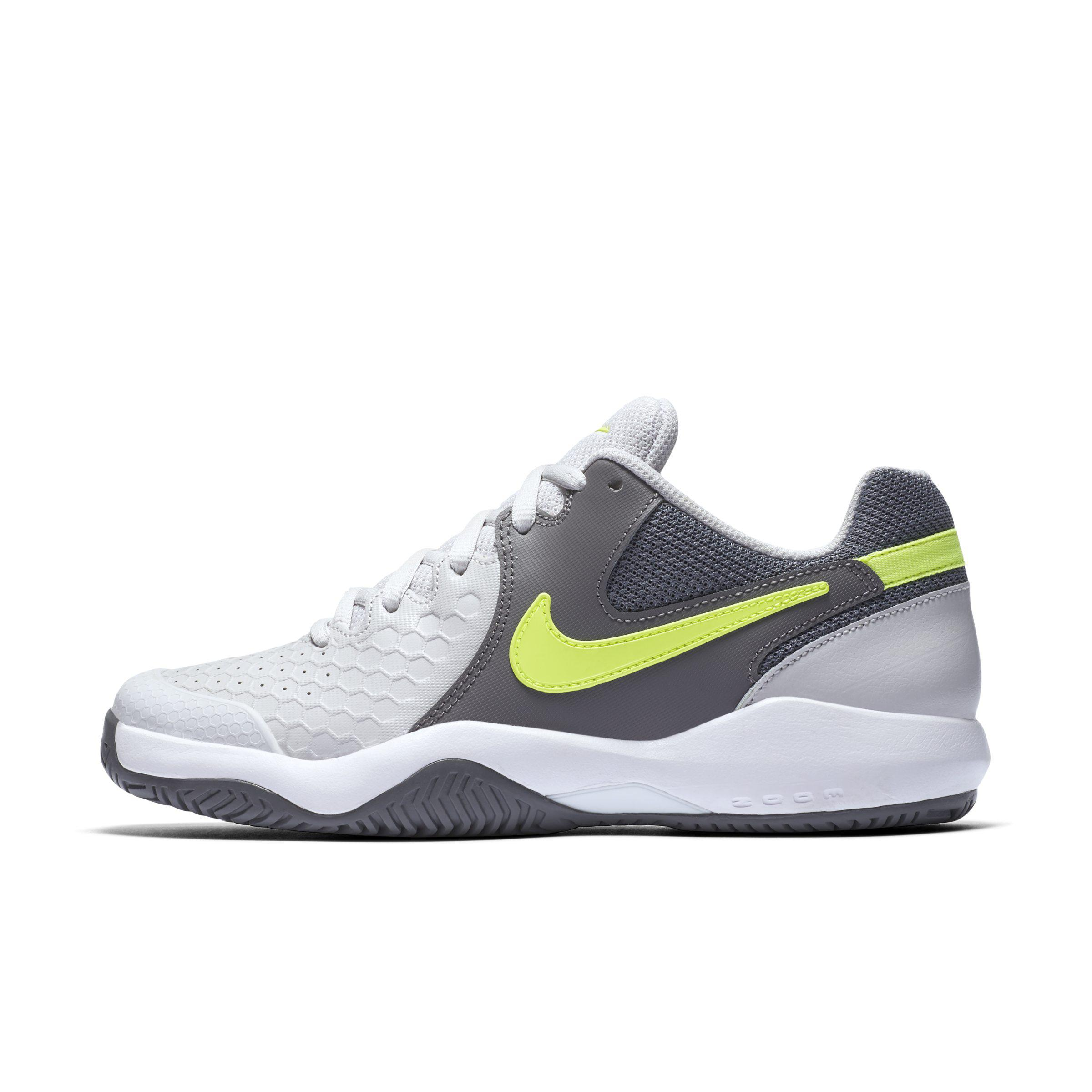a6e0f2710d40 Nike Court Air Zoom Resistance Hard Court Tennis Shoe in Gray - Lyst