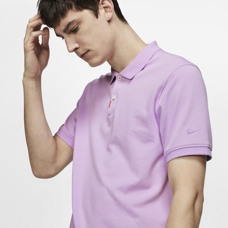 8f80f740 Nike - Purple Polo Unisex Slim Fit Polo for Men - Lyst. View fullscreen