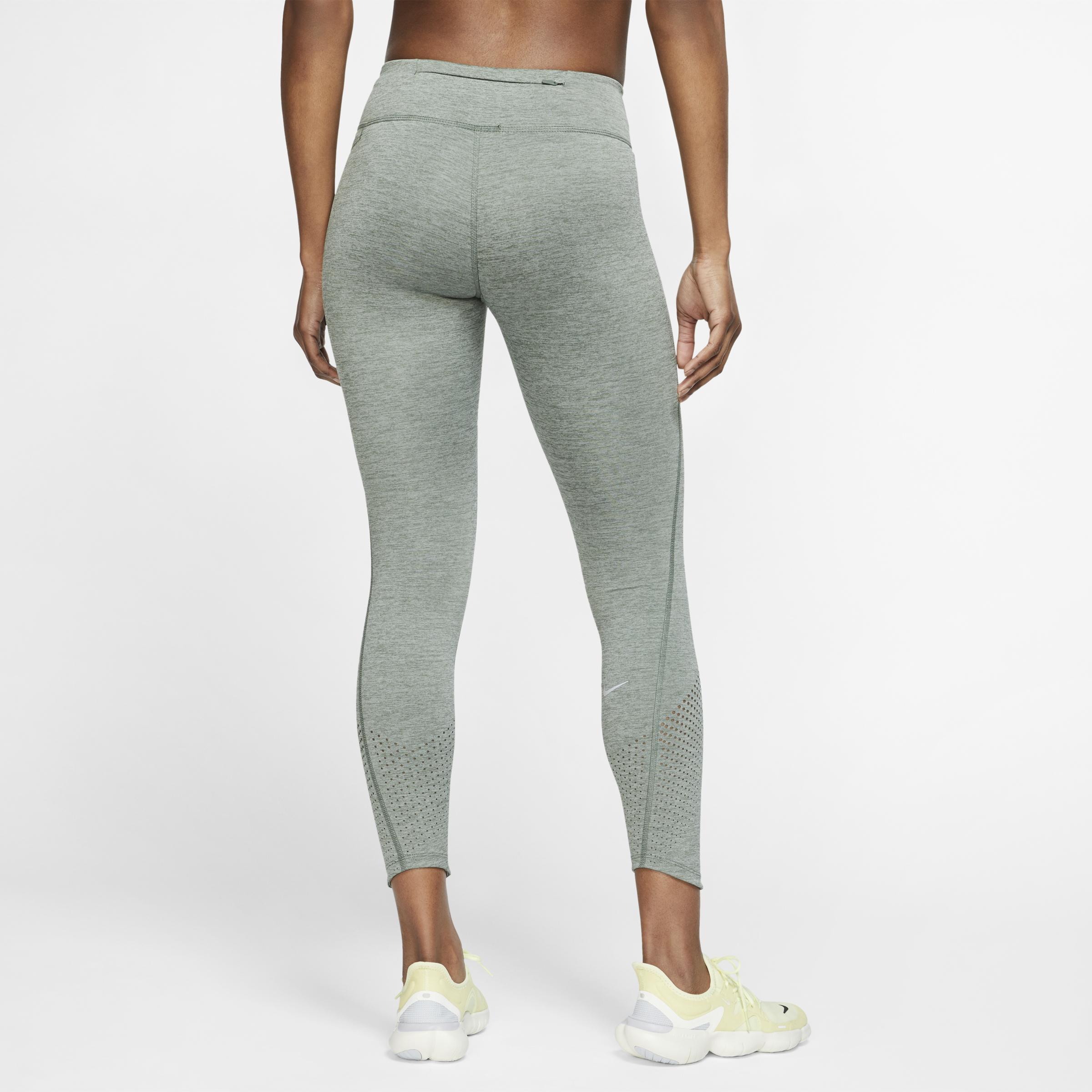 Nike Printed Epic Lux Hose Damen weiß schwarz at Sport