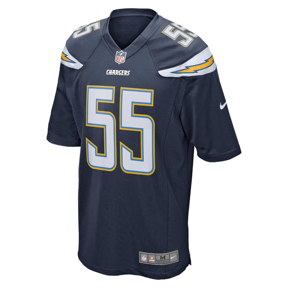 Nike. Blue Nfl San Diego Chargers (junior Seau) Men s Football Home Game  Jersey d4669c7d2
