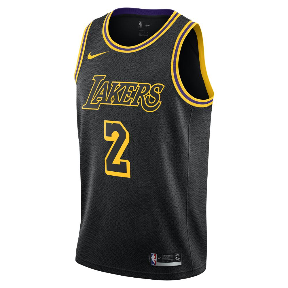 Nike Lonzo Ball City Edition Swingman Jersey (los Angeles Lakers ...
