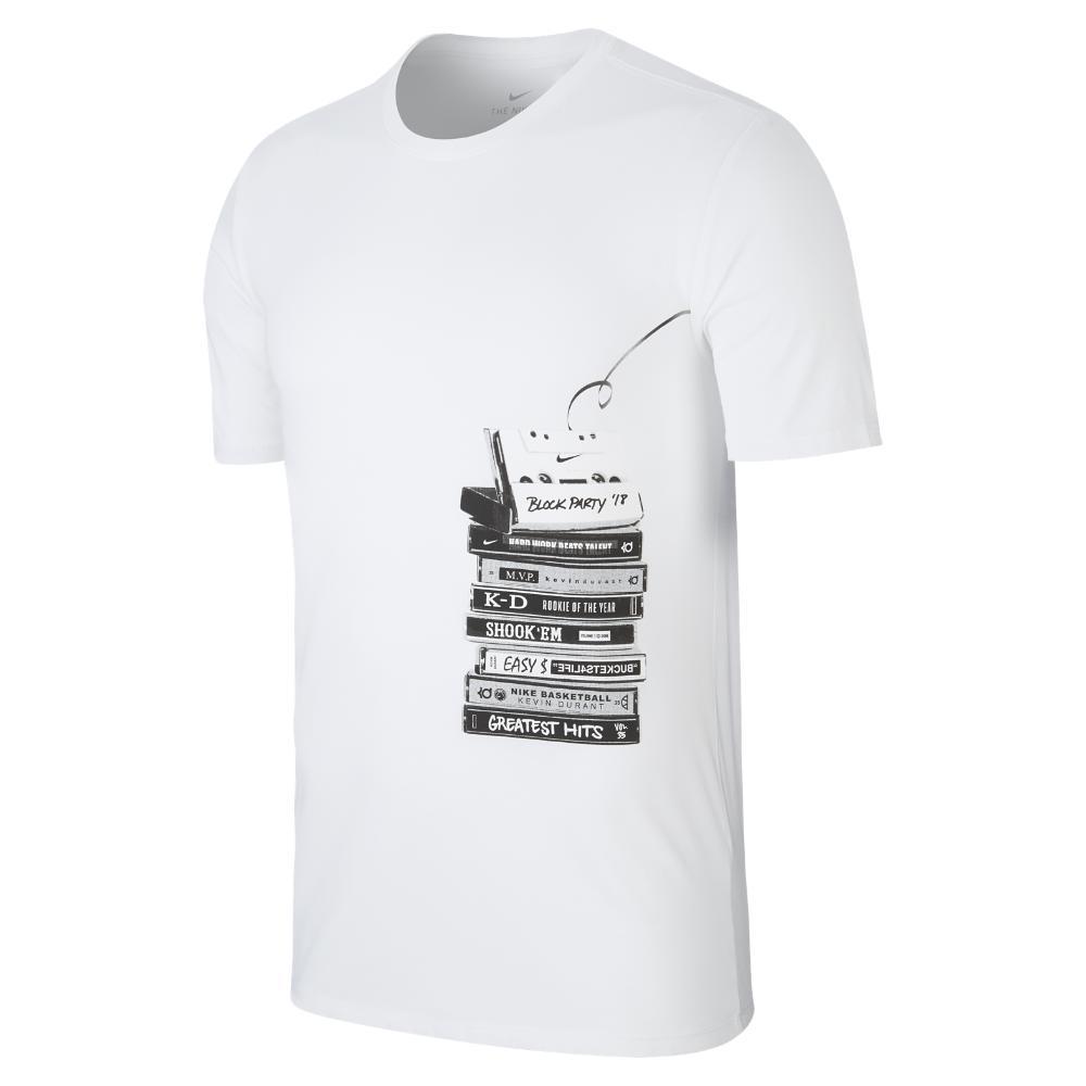 69058ae3c14 Lyst - Nike Dri-fit Kd Men s Basketball T-shirt in White for Men