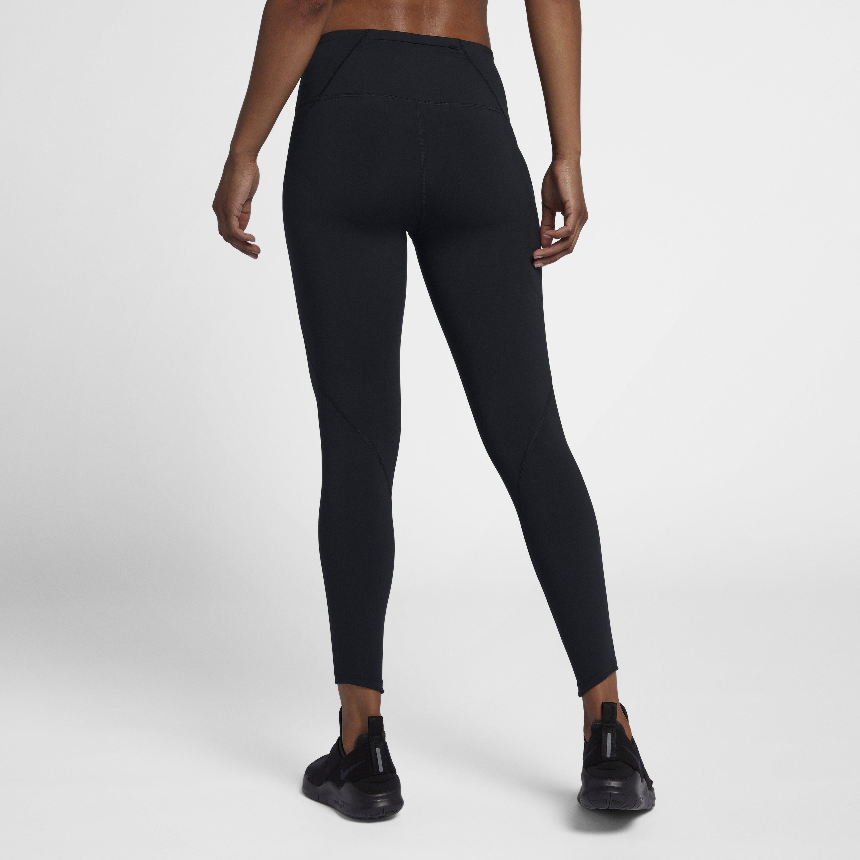 52f9301373c2e6 Nike - Black Epic Lux High-rise 7/8 Running Tights - Lyst. View fullscreen