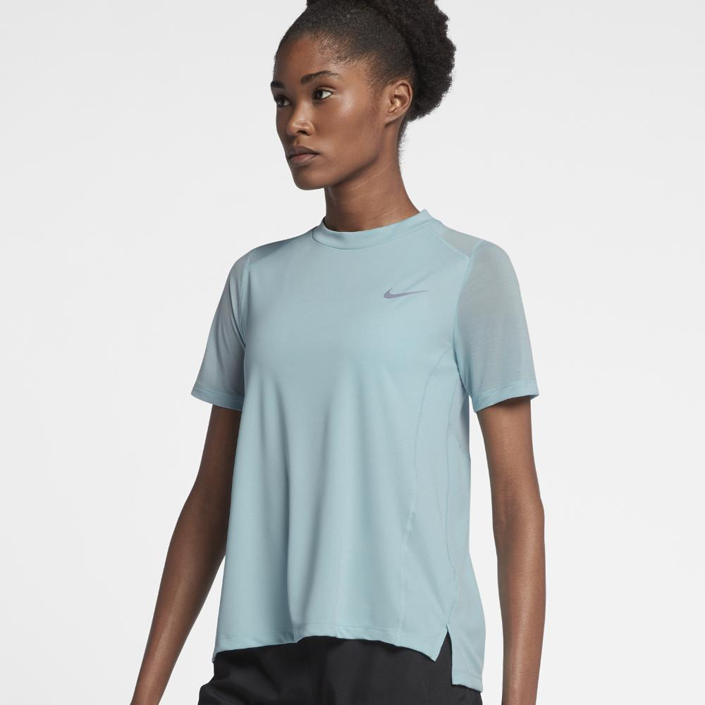 602f587f5b4 Nike Womens Dri Fit Miler Short Sleeve Running Shirt