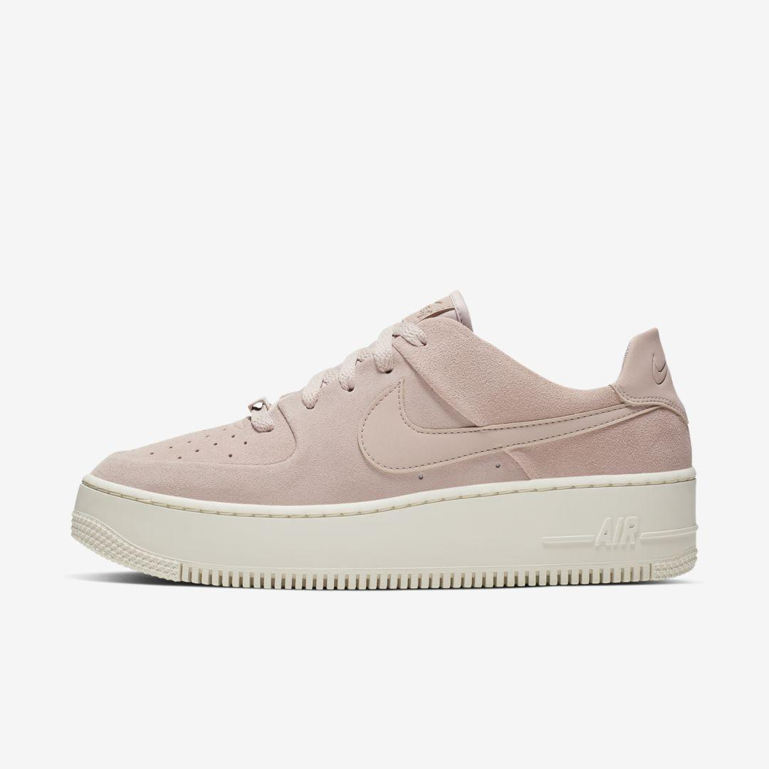 Nike Leather Air Force 1 Sage Shoes - Lyst