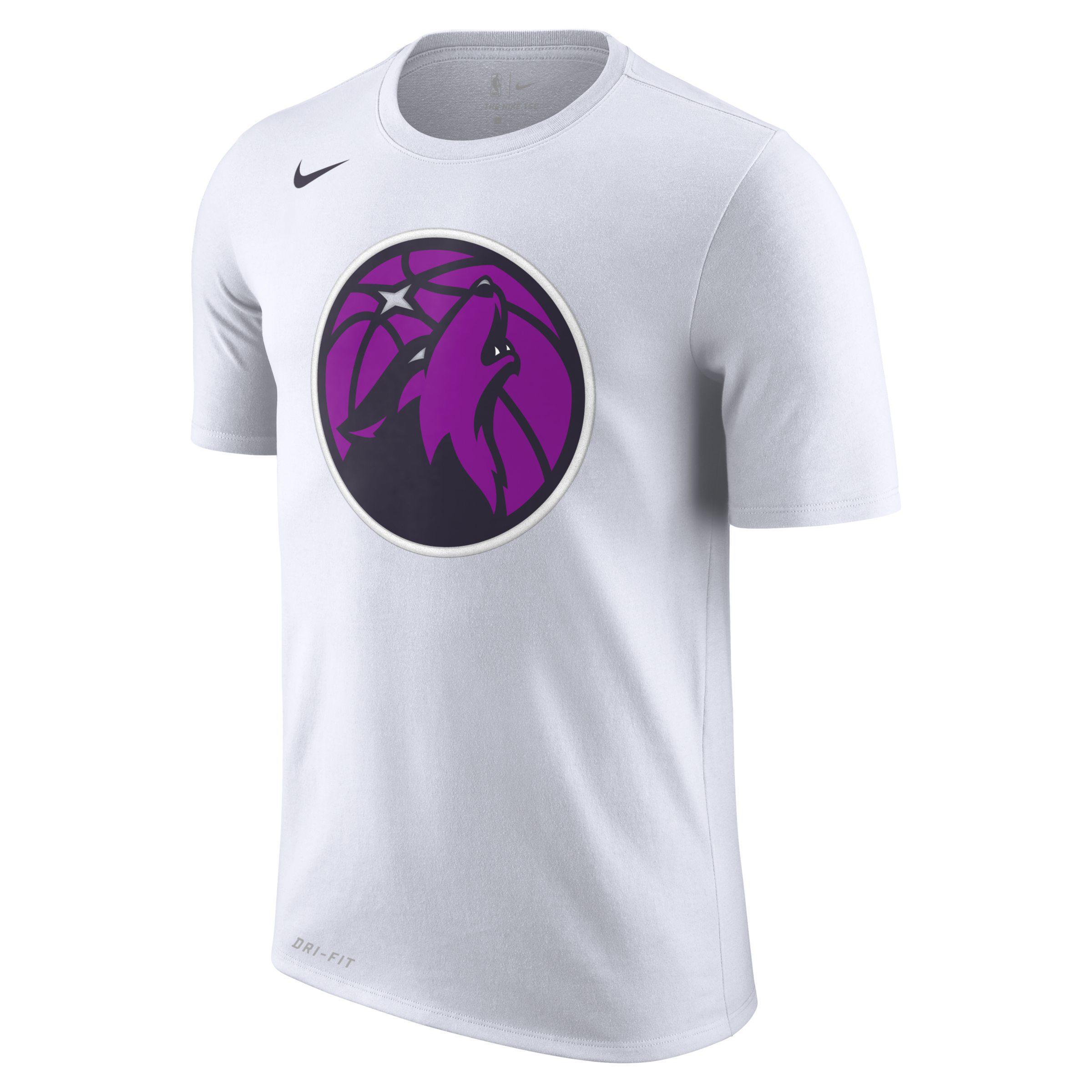 Nike Minnesota Timberwolves City Edition Dri Fit Nba T Shirt In